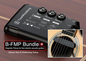 ToneWoodAmp + Pickup BUNDLE for non-electric steel or nylon strings acoustic guitars