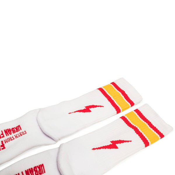 Urban Red Stripes Socks