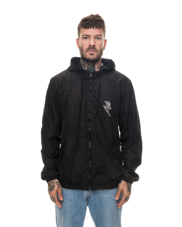 Urban The Judge Black Windbreaker