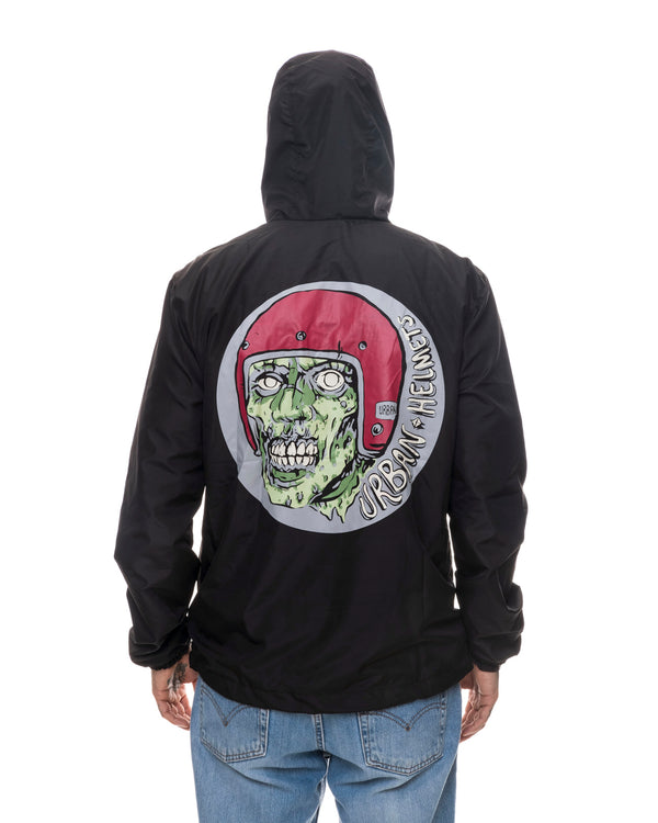 Urban Monster Black Windbreaker