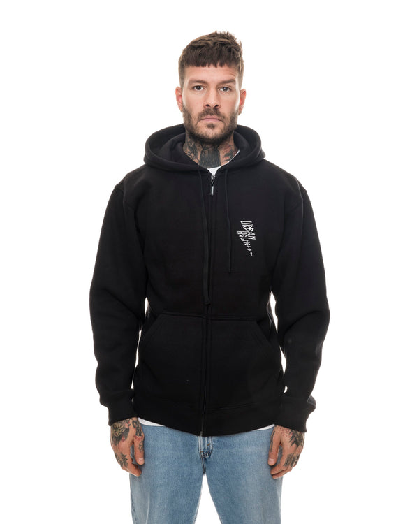 Urban Less Talk Black Hoodie