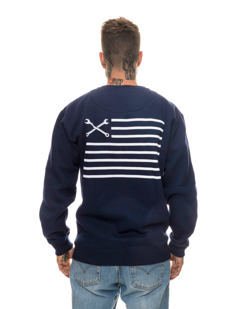 Urban Flag Navy Blue Sweatshirt