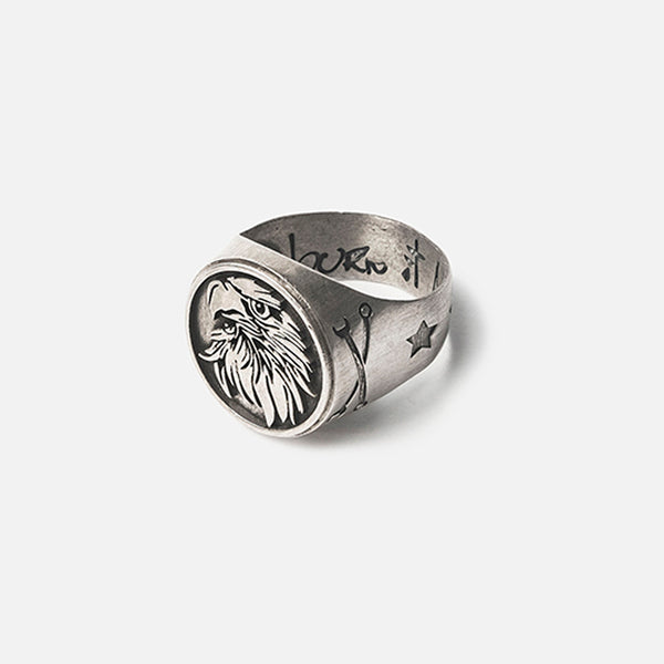 Urban Eagle 950 Silver Ring