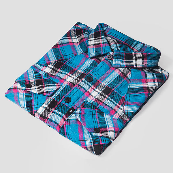 Urban Blue Flannel