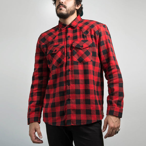 Urban Red Flannel
