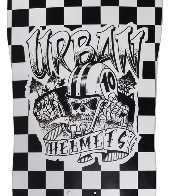 Urban Born Free Old School Deck 9.6