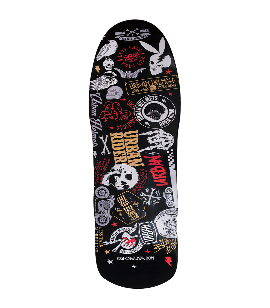 Urban Stickers Old School Deck 9.6