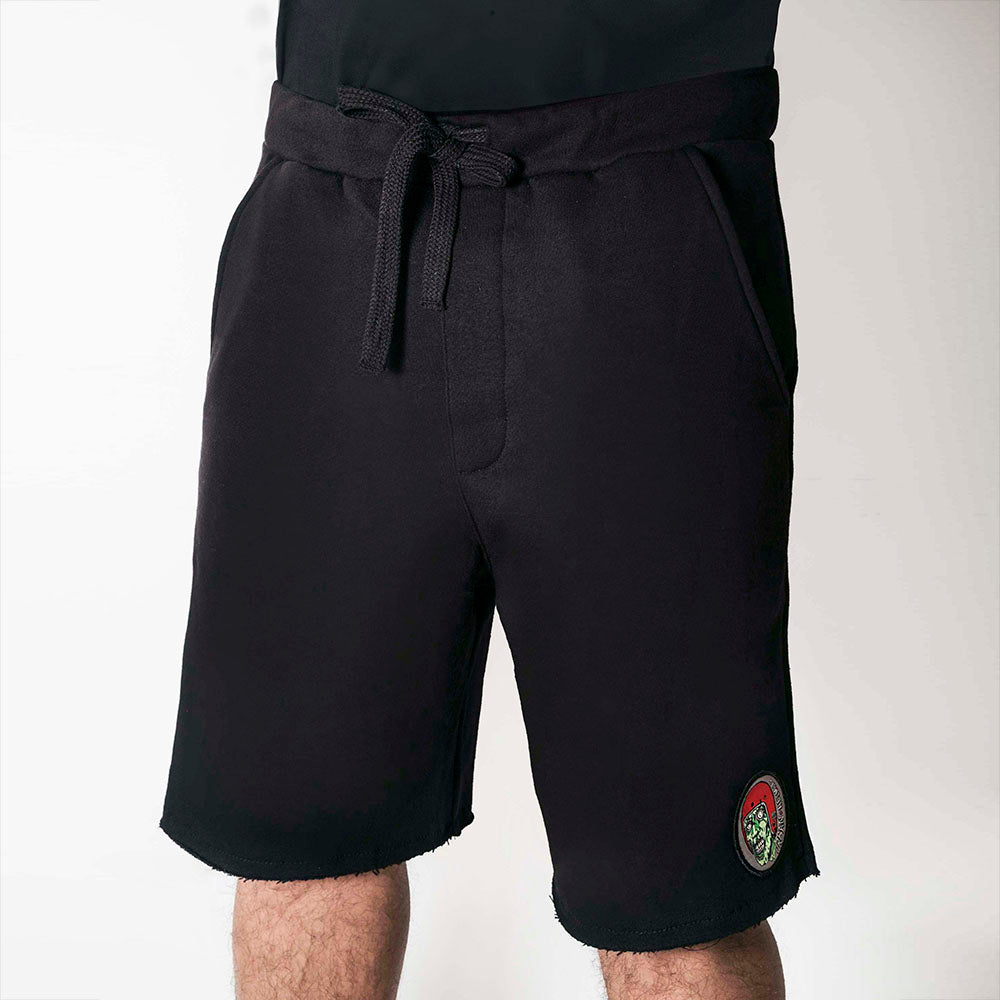 Urban Casual Fleece Monster Shorts