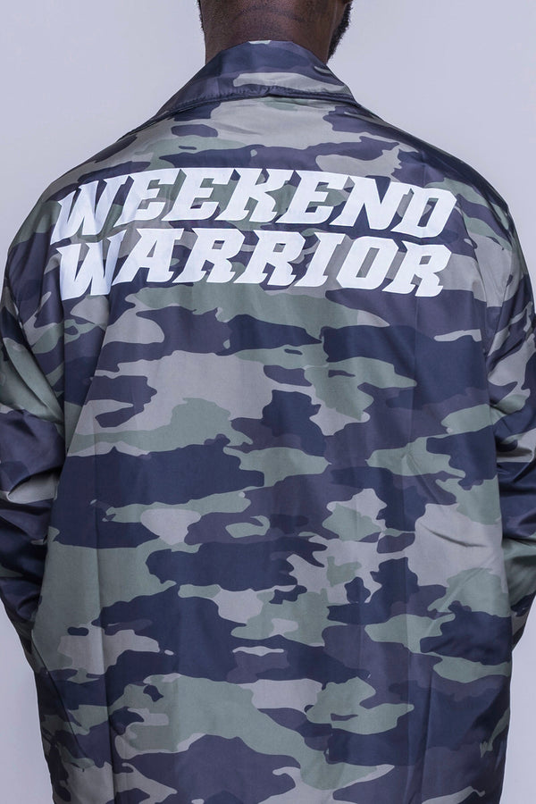 Urban Weekend Warrior Windbreaker