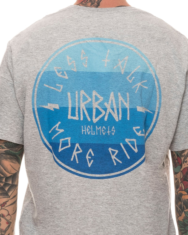 Urban Less Talk Label Light Gray
