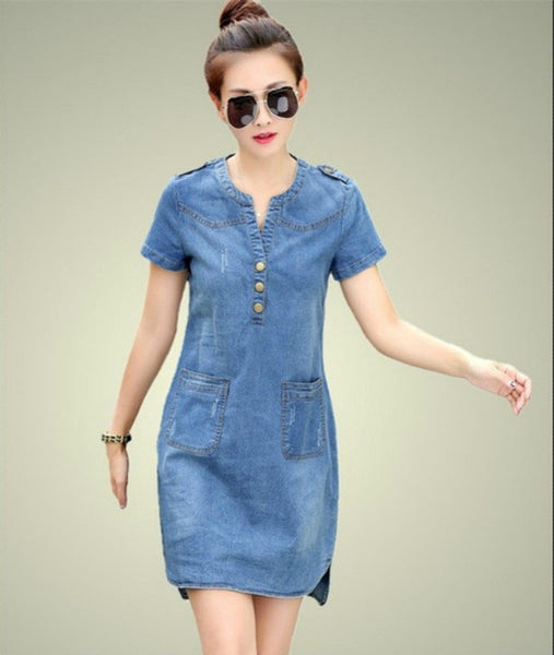 New arrival summer women denim dresses