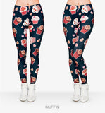 Muffin Spring Casual jeggings  Women Leggings Pink Fitness