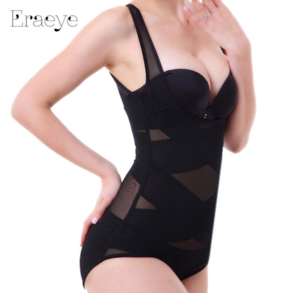 Women Sexy Siamese Corset Postpartum Thin Waist Slimming Bodysuit High Elastic Shapewear