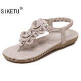 2017 New Sweet Beauty Sandals Bohemia Flower Sandas