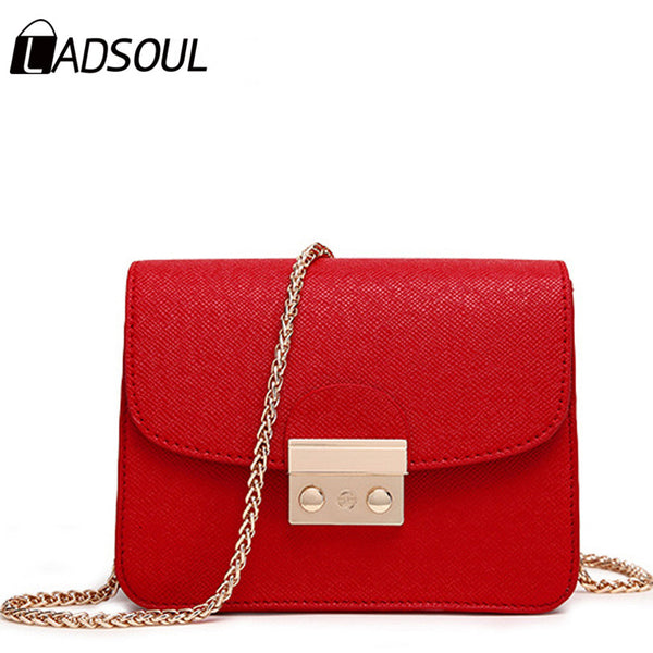 LADSOUL New Small Women Messenger Bag Clutch Bags