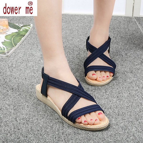 Women Shoes Sandals Comfort Sandals Summer Flip Flops 2017 Fashion High Quality Flat Sandals