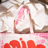 ¡ADIOS! HAND PAINTED TOTE BAG