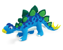 Load image into Gallery viewer, Stegosaurus Clay Modelling Kit