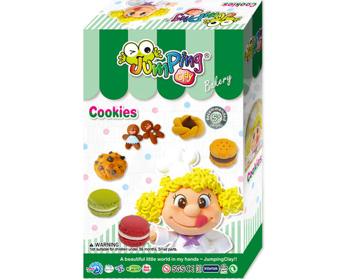 Cookies Air Dry Clay Modelling Kit