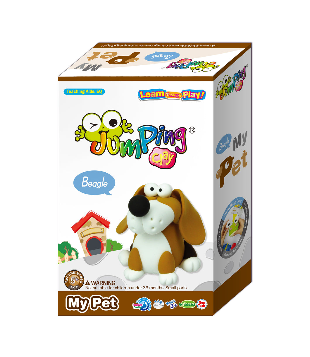 Beagle Puppy Clay Modelling Kit