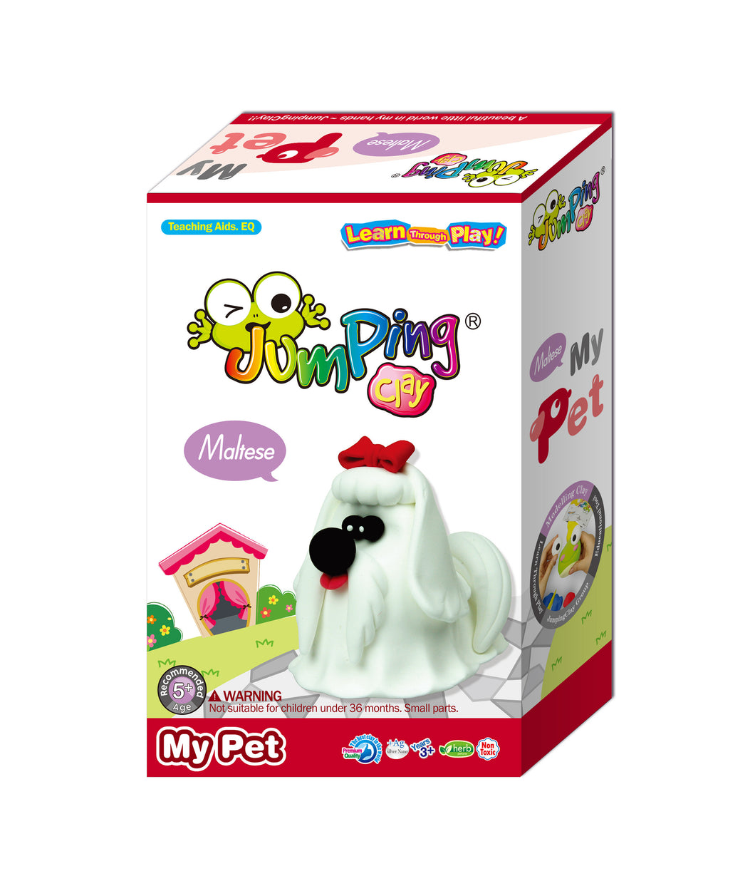 Maltese Puppy Clay Modelling Kit