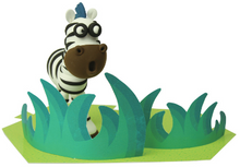 Load image into Gallery viewer, Zebra Clay Modelling Kit