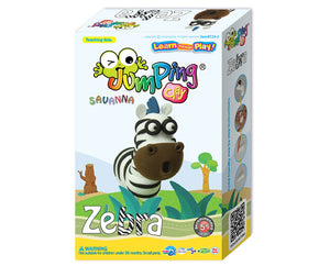 Zebra Clay Modelling Kit