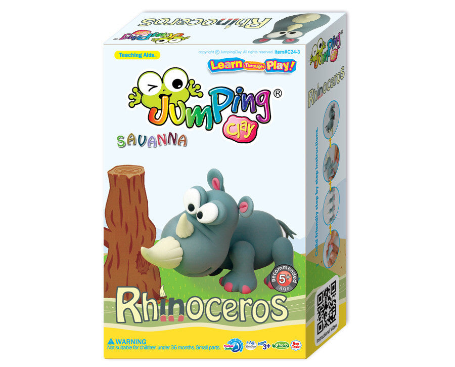 Rhino Clay Modelling Kit