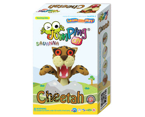 Cheetah Clay Modelling Kit