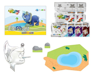 Elephant Clay Modelling Kit