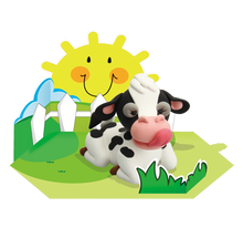 Load image into Gallery viewer, Cow Clay Modelling Kit