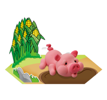 Load image into Gallery viewer, Pig Clay Modelling Kit