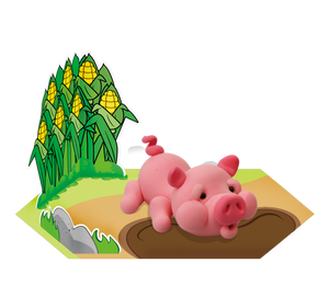 Pig Clay Modelling Kit
