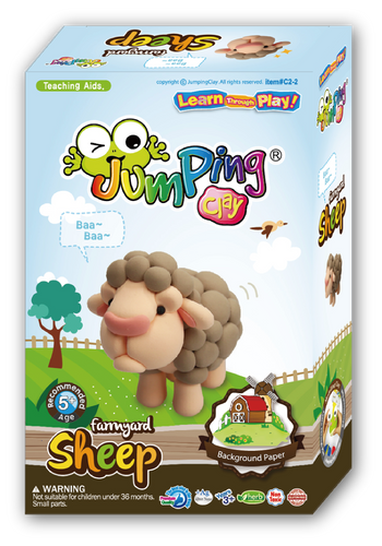 Sheep Clay Modelling Kit