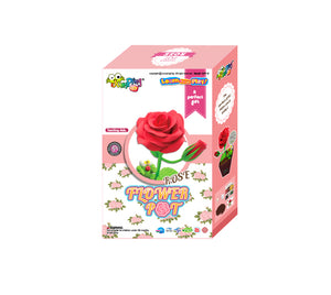 Flower Pot Rose Set