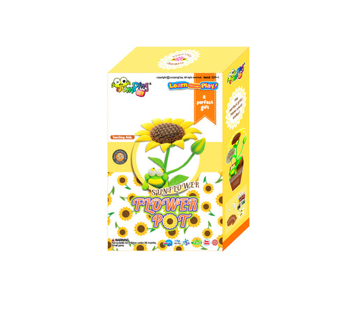 Flower Pot Sunflower Set