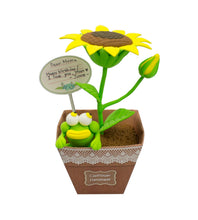 Load image into Gallery viewer, Flower Pot Sunflower Set