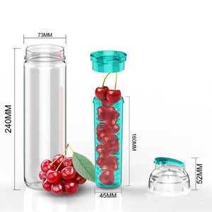 Infuser water bottle