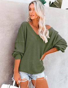 Abby cold shoulder sweater