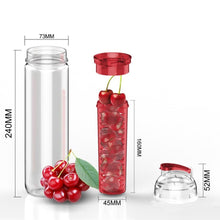 Load image into Gallery viewer, Infuser water bottle