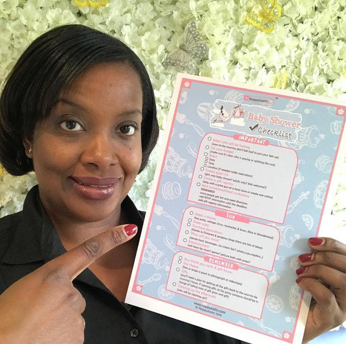 Grab our FREE Baby Shower Checklist