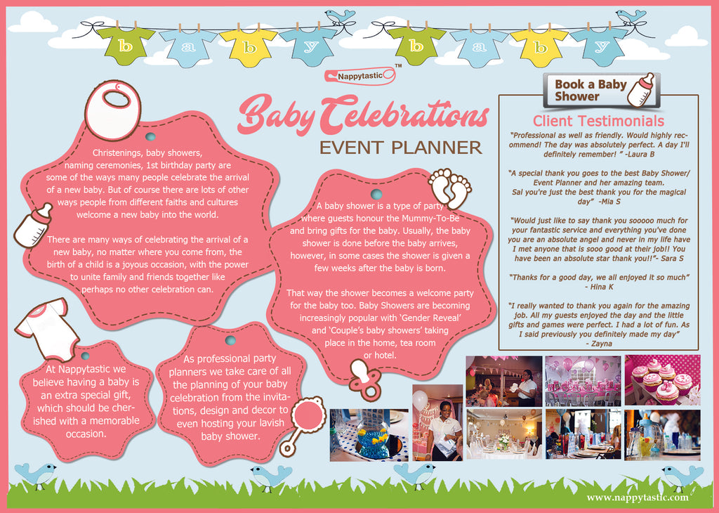 If You Are Looking To Host An Amazing Baby Shower But Have No Idea Where To  Startu2026look No Further. Nappytastic Has The Experience And Expertise To  Create ...
