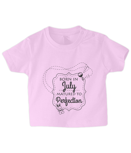 Nappytastic Baby/Toddler Born In July T-Shirt