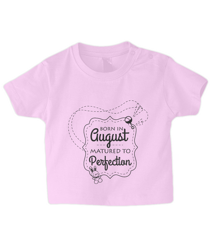 Nappytastic Baby/Toddler Born In August T-Shirt