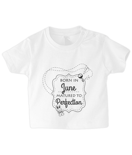 Nappytastic Baby/Toddler T-Shirt Born In June