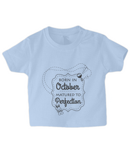 Nappytastic Baby/Toddler Born in October T-Shirt