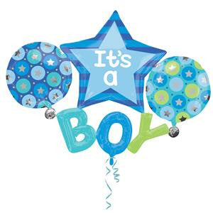 It's A Boy Multi Balloon - 39