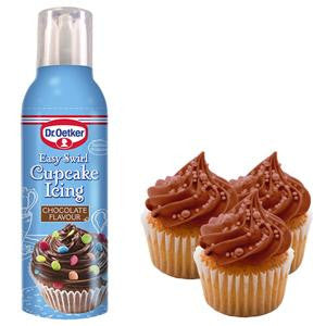 Chocolate Easy Swirl Cupcake Icing - Dr Oetker
