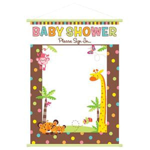Fisher Price Baby Shower Sign In Sheet