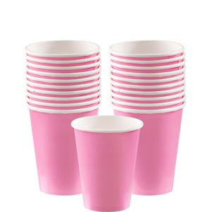 Baby Pink Cups - 266ml Paper